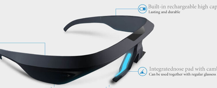 Lithium Polymer Battery LP401230 110mAh for Smart sleep glasses