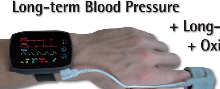 Lithium Polymer Battery LP552535 3.7V 430mAh for Long Term Blood Pressure Measurement
