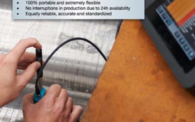 Lithium Polymer Battery LP7365125 2P 3.7V 14Ah for Portable Hardness Tester
