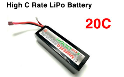 20C High C Rate Lithium Polymer Battery LPHD7520120 3S 11.1V 1500mAh for Camera Drone