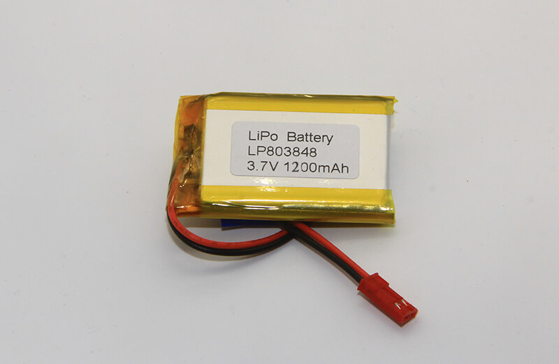 LP803848 1200mAh Lithium Polymer Battery for Robots