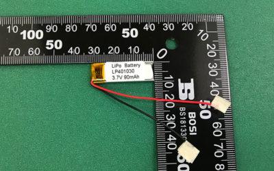LP401030 90mAh 3.7V Lithium Polymer Battery