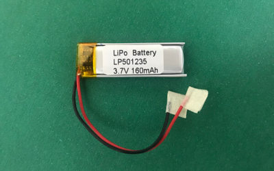 LP501235 160mAh 3.7V Lithium Polymer Battery