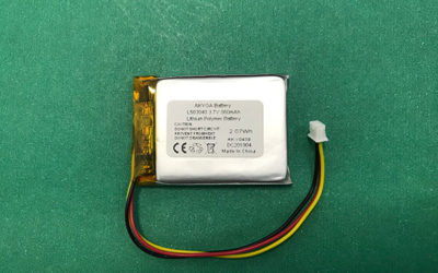 LP503040 560mAh 3.7V Lithium Polymer Battery