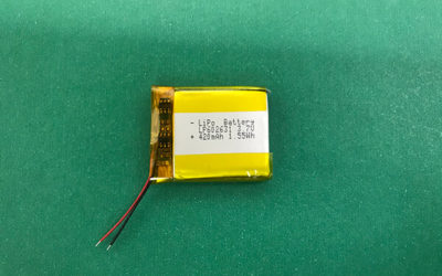 LP602631 420mAh 3.7V Lithium Polymer Battery