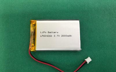 LP604260 2000mAh Lithium Polymer Battery