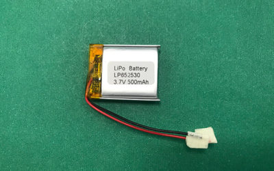 Custom 3.7V Lithium Polymer Battery LP652530 500mAh