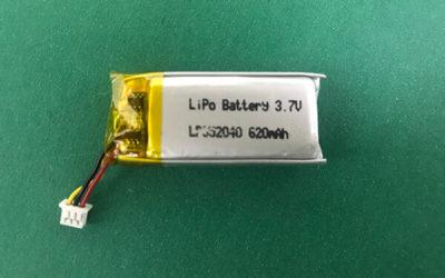 Hot Lithium Polymer Battery 3.7V LP852040 620mAh