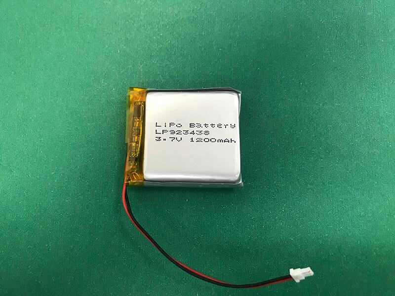 LP923438 1200mAh 3.7V Lithium Polymer Battery