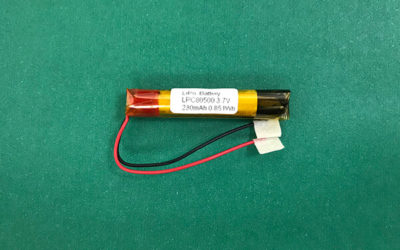 LPC80500 230mAh 3.7V Cylindrical Lithium Polymer Battery