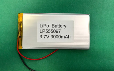 Long Lithium Polymer Battery 3.7V LP555097 3000mAh