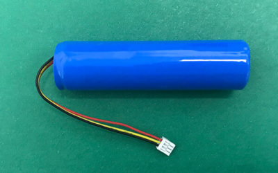 3.7V Lithium Polymer Battery LP18650 3200mAh 11.84Wh