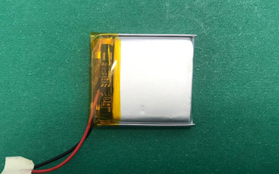 Square 3.7V Lithium Polymer Battery LP552730 400mAh 1.48Wh