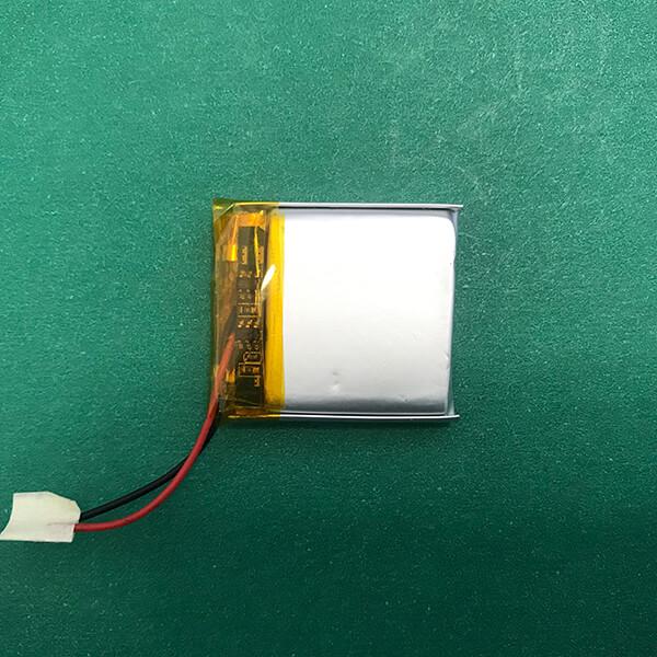 Square 3.7V Lithium Polymer Battery LP552730 400mAh 1.48Wh