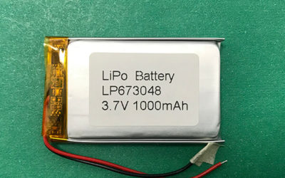 LP673048 Lithium Polymer Battery 1000mAh 3.7V