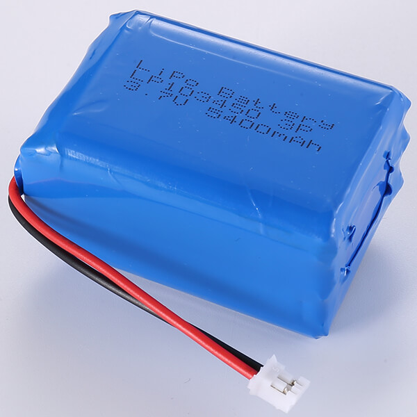 Popular 3.7V Lithium Polymer Battery Pack LP103450 3P 5400mAh