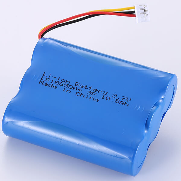 Fixed Li-ion Battery 3.7V LP18650A+ 3P 10500mAh In Stock