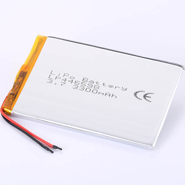3.7V Lithium Polymer Battery LP446598 3300mAh
