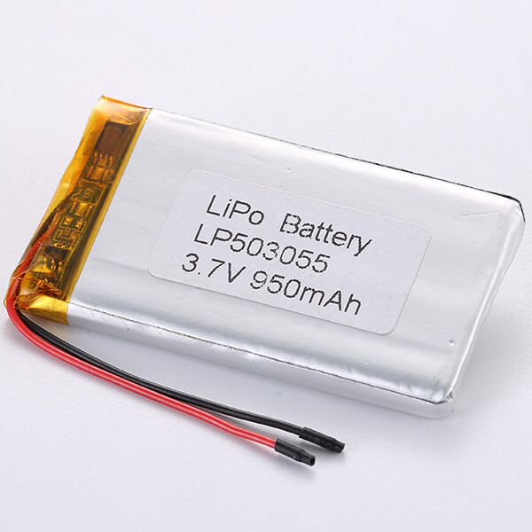 LP503055 Lithium Polymer Battery 3.7V 950mAH For Sale