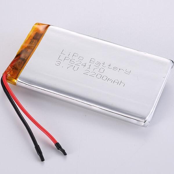 LP624170 Lithium Polymer Battery 3.7V 2200mAh 8.14Wh