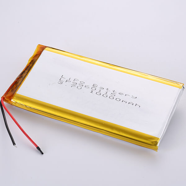 3.7V Hot Seller Lithium Polymer Battery LP9960115 10000mAh