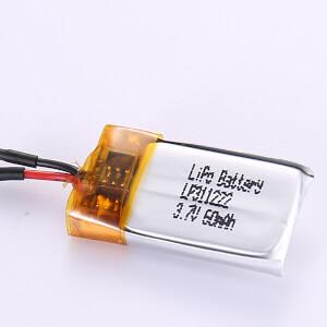 Smallest 3.7V Lithium Polymer Battery LP311222 60mAh