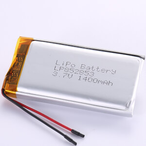 1400mAh Lithium Polymer Battery LP852853 3.7V