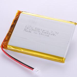 3.7V Lithium Polymer Battery LP105878 5400mAh High Capacity