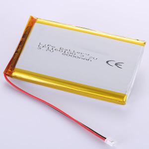 Large Lithium Polymer Battery 3.7V LP1160100 8000mAh