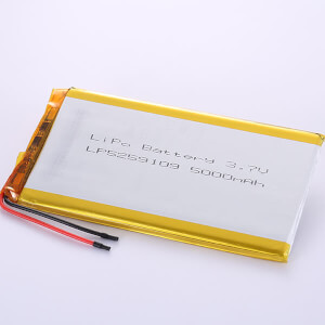 3.7V Long Lithium Polymer Battery LP5259109 5000mAh