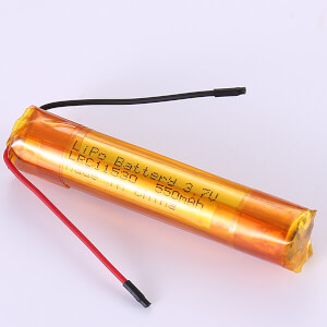 Special Shape Lithium Polymer Battery LPC11530 550mAh 3.7V