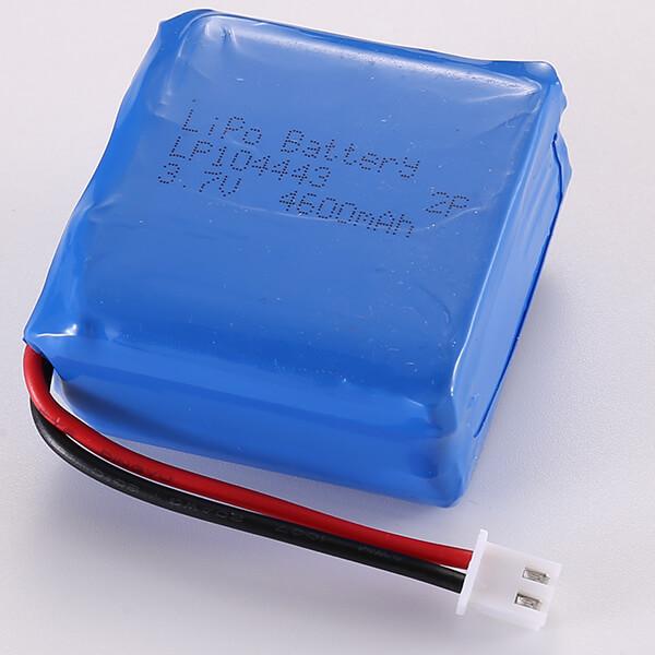 Lithium Polymer Battery Packs LP104443 2P 4600mAh 3.7V